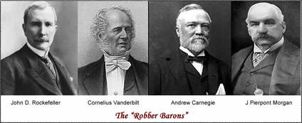 morgan carnegie vanderbilt rockefeller were robbers or heroes Robber baron is a derogatory metaphor of social criticism originally applied to  certain late  the first such usage was against vanderbilt, for taking money from   biographies of mellon, carnegie and rockefeller were often laced with moral   nevins, in his john d rockefeller: the heroic age of american enterprise (2.